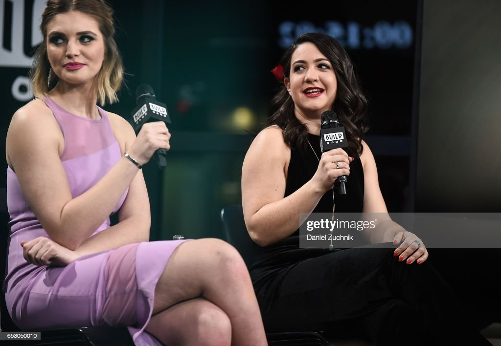 Olivia Caridi and Emma Gray attend the Build Series to discuss the season finale of 'The Bachelor' at Build Studio on March 13, 2017 in New York City.