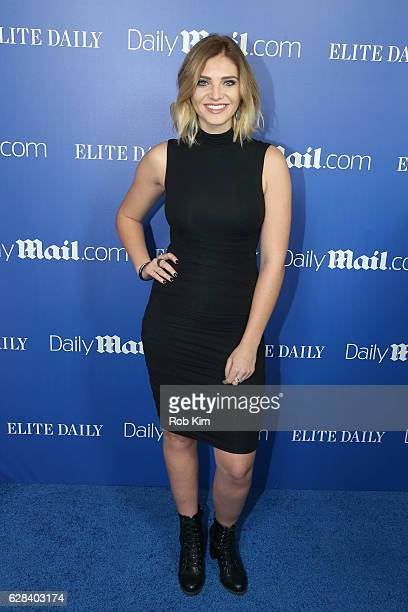 Olivia Caridi attends the DailyMailcom Elite Daily Holiday Party with Jason Derulo at Vandal on December 7 2016 in New York City