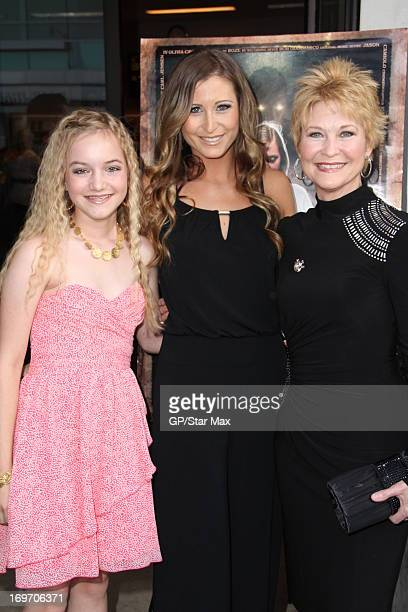 Olivia Cavender Gabrielle Stone and Dee Wallace as seen on May 30 2013 in Los Angeles California