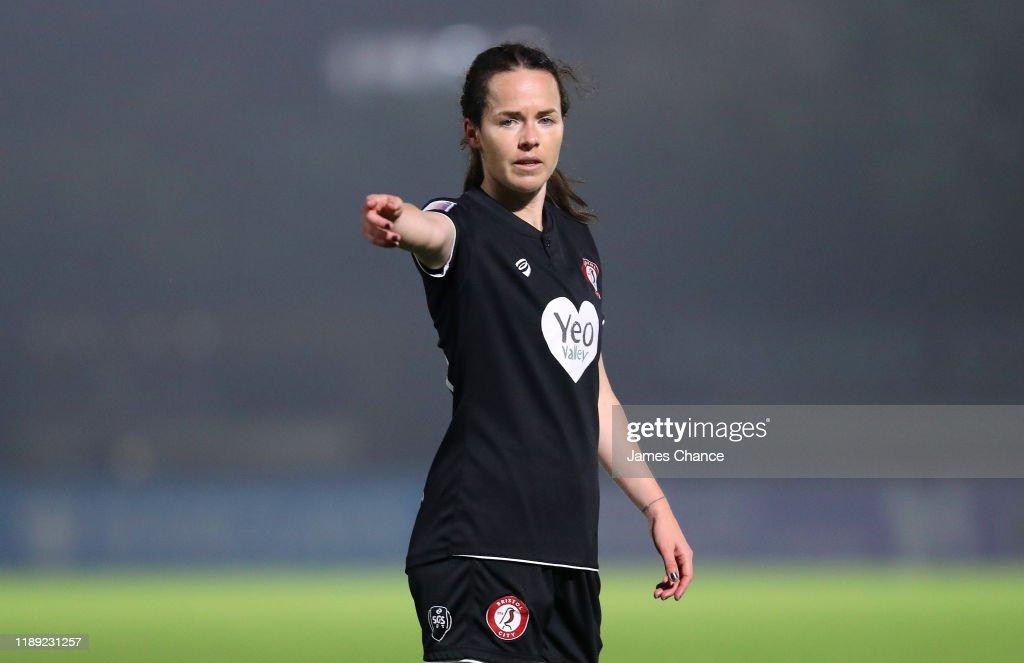 Arsenal Women v Bristol City Women - FA Women's Continental League Cup : News Photo