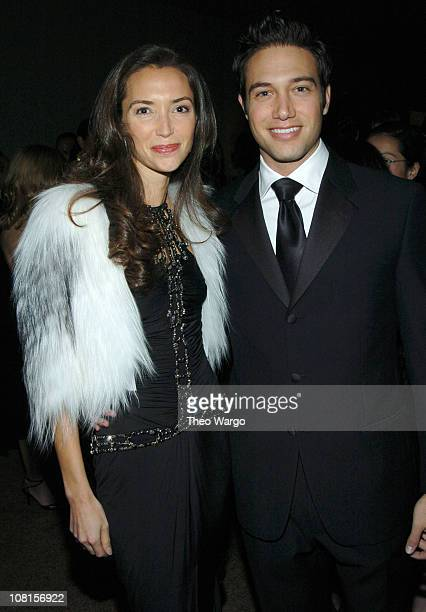 Olivia Chantecaille and Eric Villency