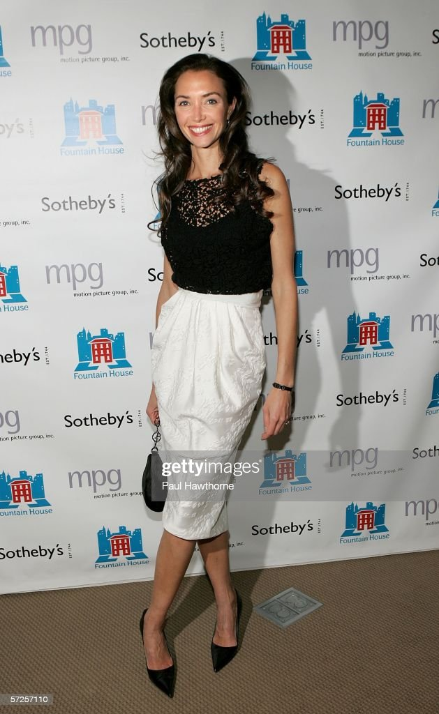 Olivia Chantecaille attends an auction of photographer Francesco Scavullo's work benefiting Fountain House at Sotheby's April 4, 2006 in New York City.