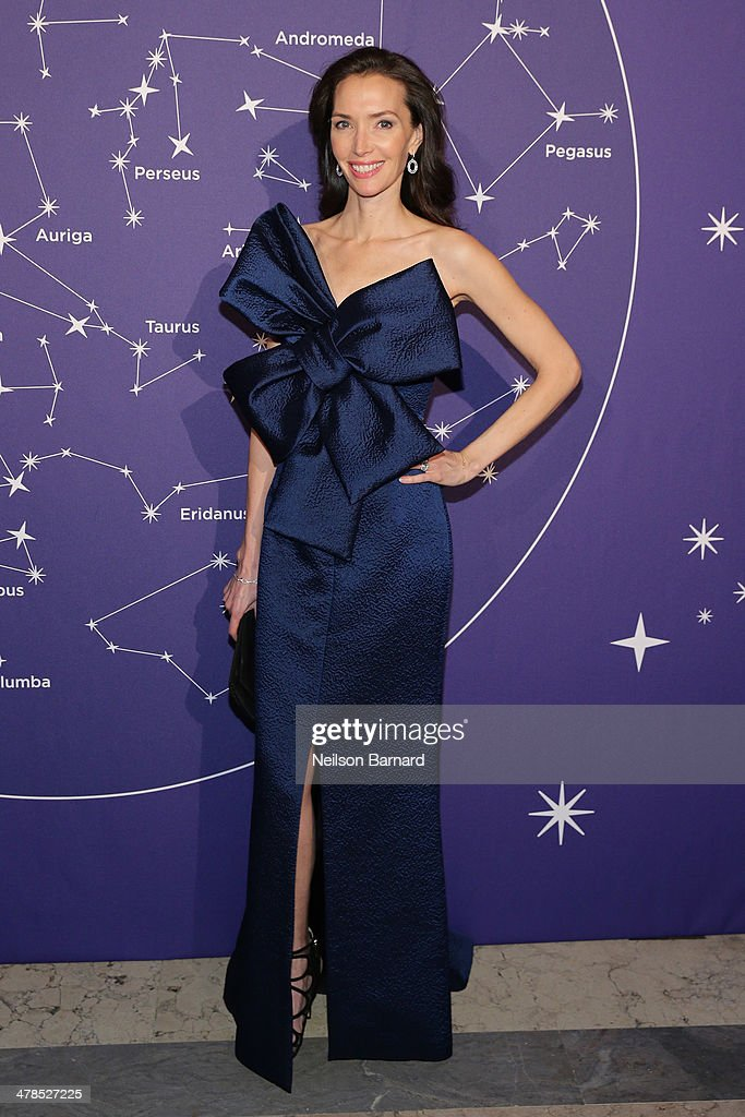 Olivia Chantecaille attends the Young Fellows Celestial Ball presented by PAULE KA at The Frick Collection on March 13, 2014 in New York City.
