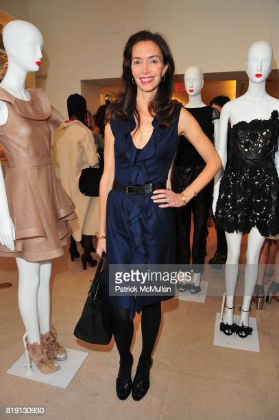 Olivia Chantecaille attends VALENTINO Spring/ Summer 2010 Collection Private Luncheon and Presentation hosted by Samantha Boardman Rosen Shala...
