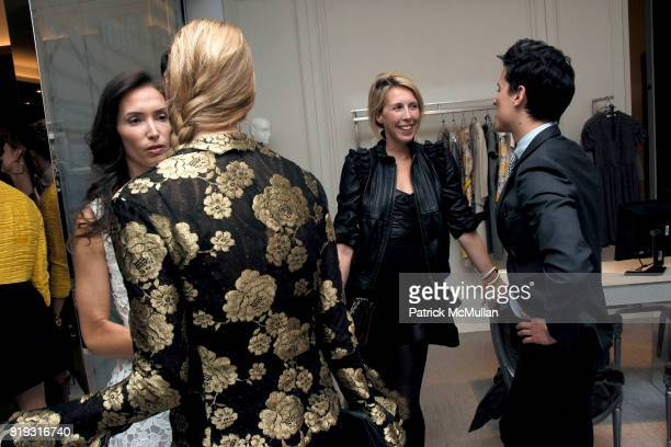 Olivia Chantecaille Karen Duffy Lauren Goodman and Luigi Tadini attend SAKS FIFTH AVENUE VALENTINO Host a Dinner to benefit SAVE VENICE at Saks Fifth...