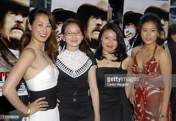 Olivia Cheng Valerie Tian Caroline Chan and Jadyn Wong