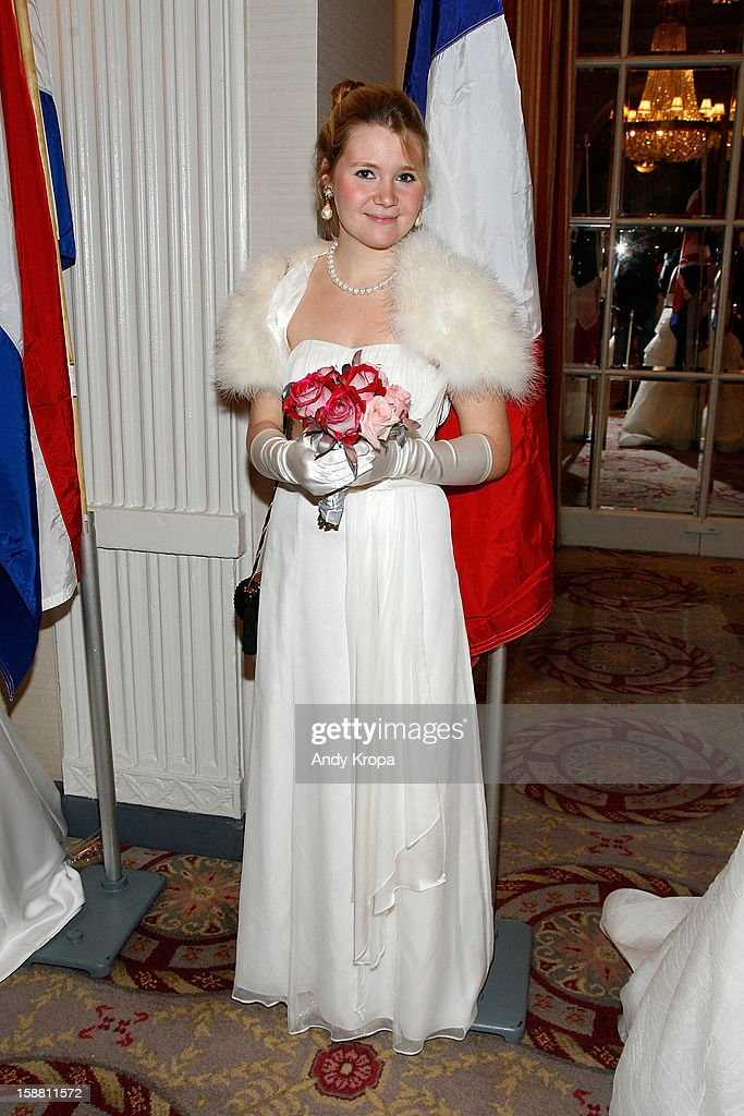 Olivia Claire Neale attends The 58th International Debutante Ball at The Waldorf-Astoria on December 29, 2012 in New York City.