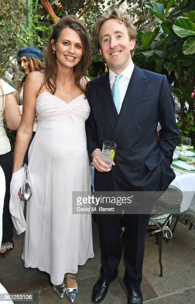 Olivia Cole and James Rivett attend the Annabel's x Dior dinner on May 21 2018 in London England