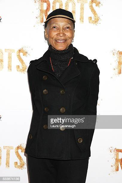 Olivia Cole attends Roots Night One Screening at Alice Tully Hall Lincoln Center on May 23 2016 in New York City