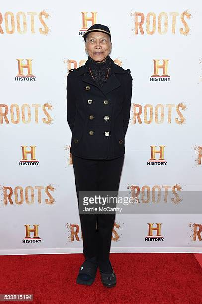 Olivia Cole attends the Roots night one screening at Alice Tully Hall Lincoln Center on May 23 2016 in New York City