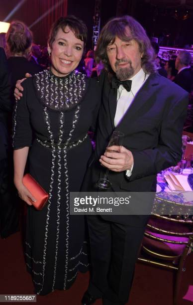 Olivia Colman and Sir Trevor Nunn attend the after party of the 65th Evening Standard Theatre Awards in association with Michael Kors at the London...