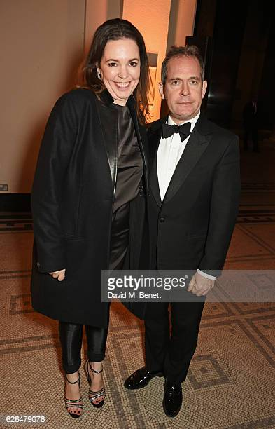 Olivia Colman and Tom Hollander attend as PORTER hosts a special performance of Letters Live in celebration of their Incredible Women of 2016 at The...