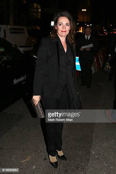 Olivia Colman attending the Harper's Bazaar Women of the Year Awards on October 31 2016 in London England