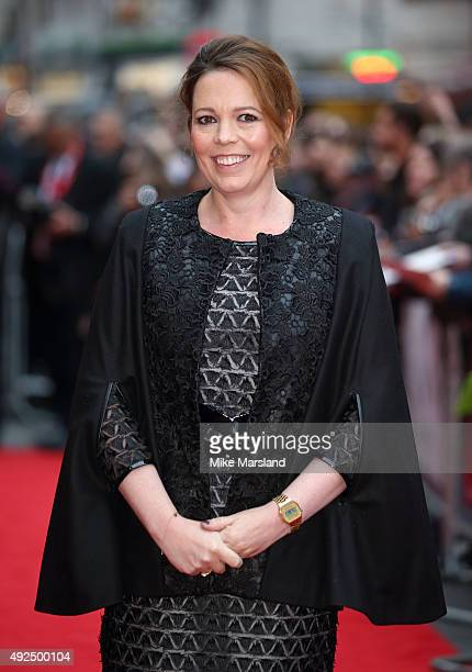 Olivia Colman attends a screening of The Lobster during the BFI London Film Festival at Vue West End on October 13 2015 in London England