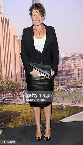Olivia Colman attends as the Evening Standard host a party for The 1000 London's Most Influential People at Battersea Power station on September 19...