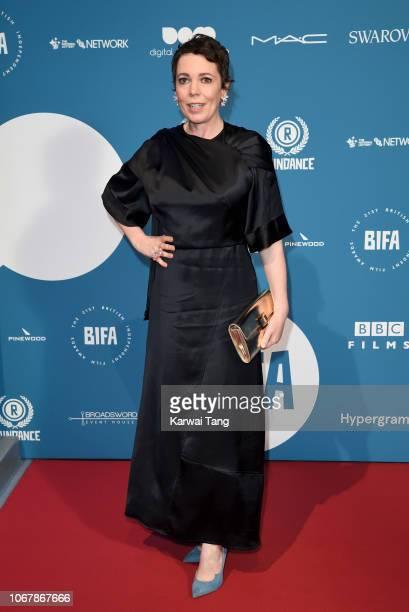 Olivia Colman attends the 21st British Independent Film Awards at Old Billingsgate on December 2 2018 in London England
