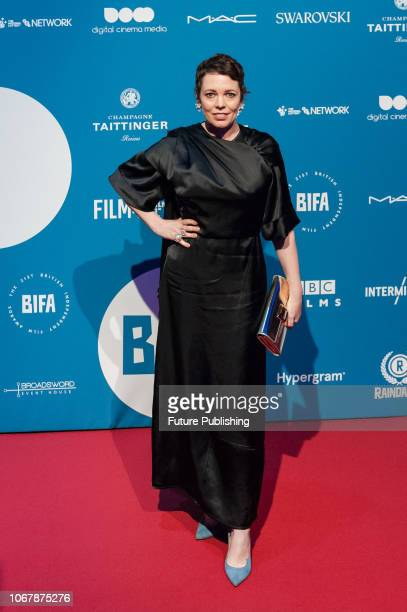 Olivia Colman attends the 21st British Independent Film Awards at Old Billingsgate in the City of London December 02 2018 in London United Kingdom