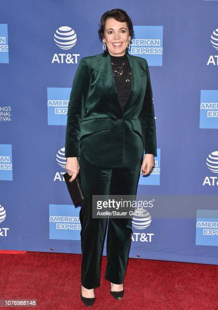 Olivia Colman attends the 30th Annual Palm Springs International Film Festival Film Awards Gala at Palm Springs Convention Center on January 3 2019...