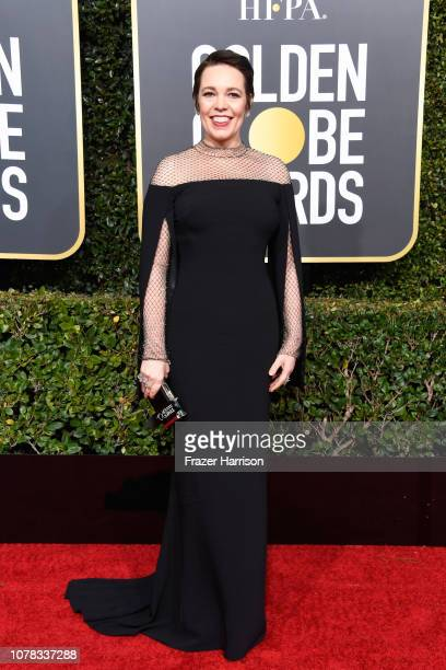 Olivia Colman attends the 76th Annual Golden Globe Awards at The Beverly Hilton Hotel on January 6, 2019 in Beverly Hills, California.