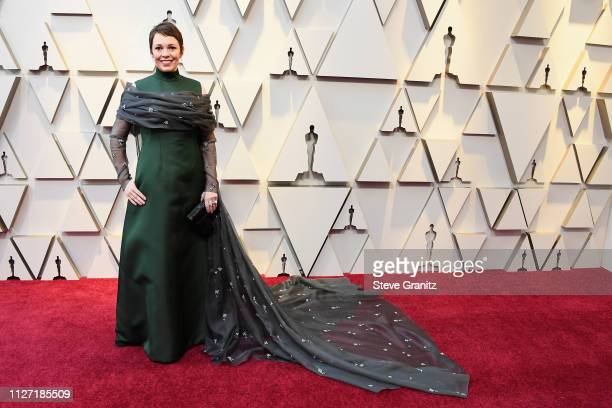 Olivia Coleman attends the 91st Annual Academy Awards at Hollywood and Highland on February 24 2019 in Hollywood California