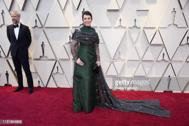 Olivia Colman attends the 91st Annual Academy Awards at Hollywood and Highland on February 24 2019 in Hollywood California
