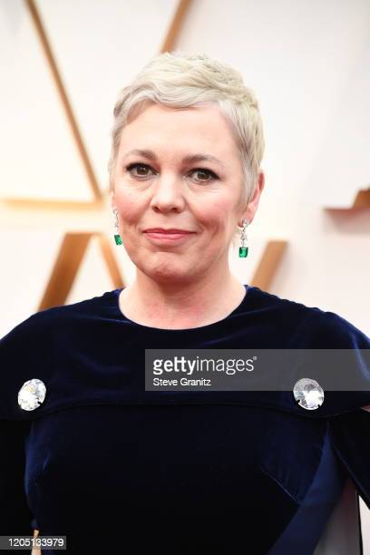 Olivia Colman attends the 92nd Annual Academy Awards at Hollywood and Highland on February 09, 2020 in Hollywood, California.