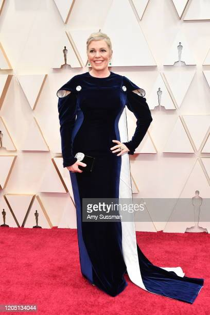 Olivia Colman attends the 92nd Annual Academy Awards at Hollywood and Highland on February 09 2020 in Hollywood California