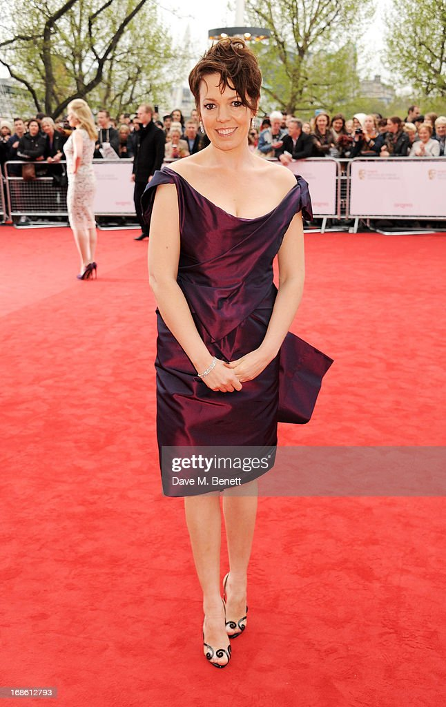 Olivia Colman attends the Arqiva British Academy Television Awards 2013 at the Royal Festival Hall on May 12, 2013 in London, England.