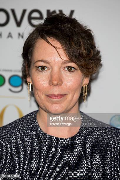 Olivia Colman attends the Broadcasting Press Guild Awards sponsored by The Discovery Channel at Theatre Royal on March 28 2014 in London England