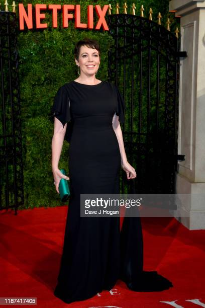 """Olivia Colman attends """"The Crown"""" season 3 world premiere at The Curzon Mayfair on November 13, 2019 in London, England."""