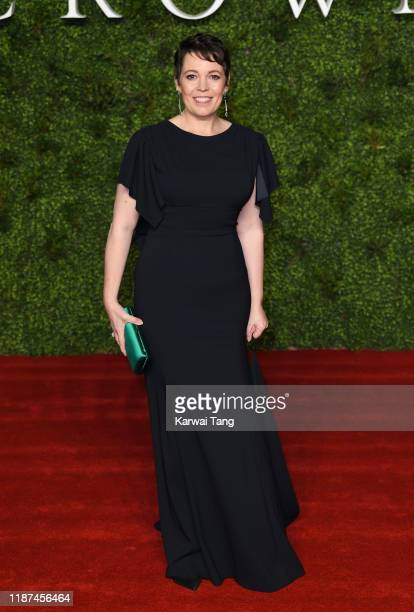 "Olivia Colman attends ""The Crown"" Season 3 world premiere at The Curzon Mayfair on November 13, 2019 in London, England."