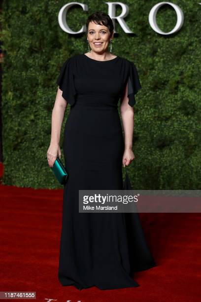 Olivia Colman attends The Crown Season 3 world premiere at The Curzon Mayfair on November 13 2019 in London England