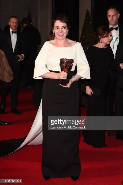 Olivia Colman attends the EE British Academy Film Awards Gala Dinner at Grosvenor House on February 10, 2019 in London, England.