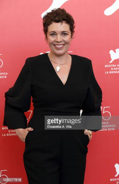 Olivia Colman attends 'The Favourite' photocall during the 75th Venice Film Festival at Sala Casino on August 30, 2018 in Venice, Italy.