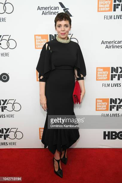Olivia Colman attends the opening night premiere of The Favourite during the 56th New York Film Festival at Alice Tully Hall Lincoln Center on...