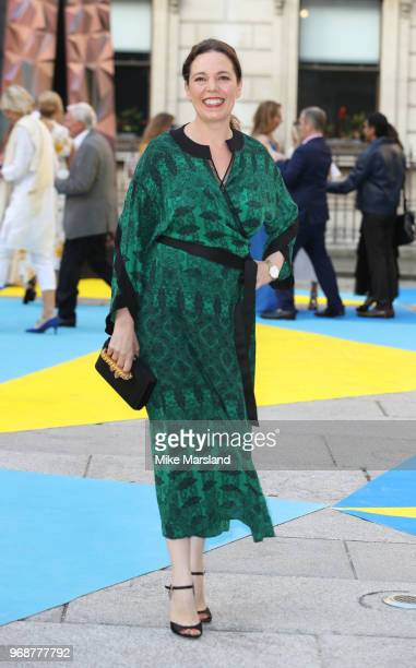 Olivia Colman attends the Royal Academy of Arts Summer Exhibition Preview Party at Burlington House on June 6 2018 in London England