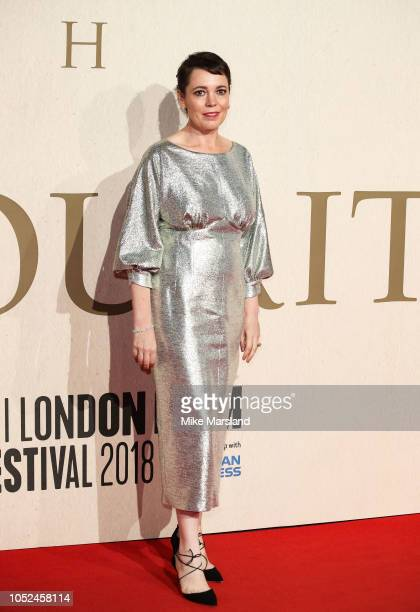 Olivia Colman attends the UK Premiere of The Favourite American Express Gala at the 62nd BFI London Film Festival on October 18 2018 in London England