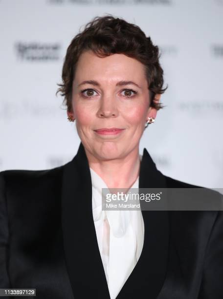 Olivia Colman attends the 'Up Next Gala' at The National Theatre on March 05, 2019 in London, England.