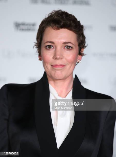 Olivia Colman attends the 'Up Next Gala' at The National Theatre on March 5, 2019 in London, England.