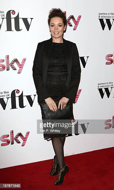Olivia Colman attends the Women in TV Film Awards at London Hilton on December 7 2012 in London England