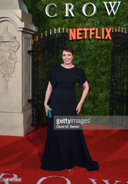 """Olivia Colman attends the World Premiere of Netflix Original Series """"The Crown"""" Season 3 at The Curzon Mayfair on November 13, 2019 in London,..."""