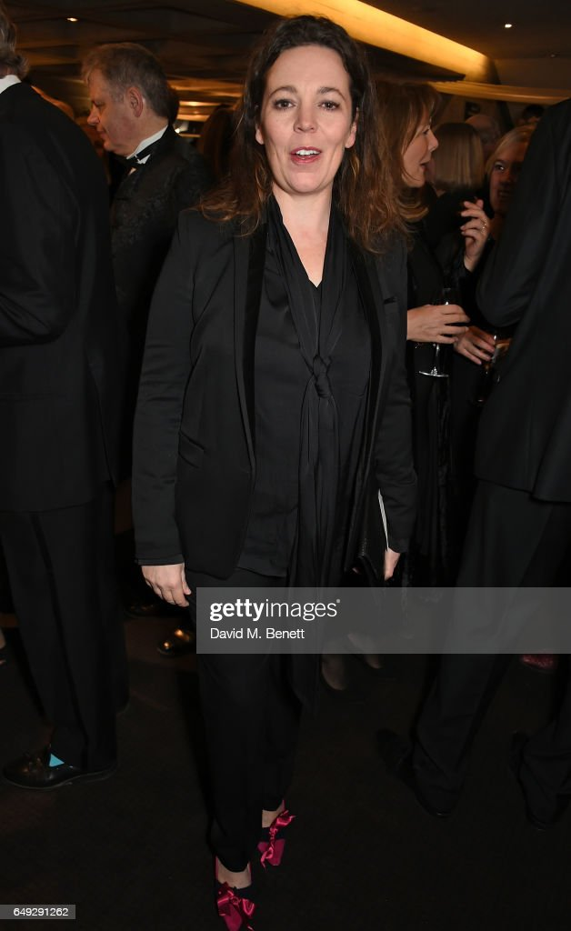 Olivia Colman attends 'Up Next: The National Theatre's Annual Fundraising Gala' at The National Theatre on March 7, 2017 in London, England.