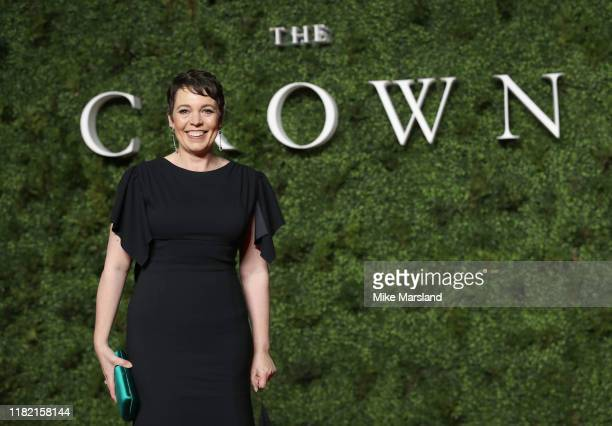 """Olivia Colman Carter attends """"The Crown"""" Season 3 world premiere at The Curzon Mayfair on November 13, 2019 in London, England."""
