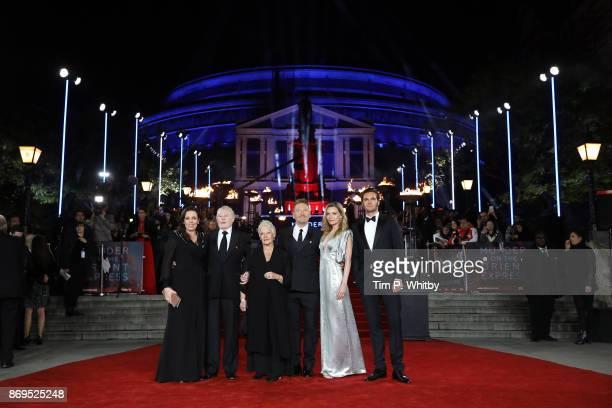 Olivia Colman Derek Jacobi Dame Judi Dench Kenneth Branagh Michelle Pfeiffer and Tom Bateman attend the 'Murder On The Orient Express' World Premiere...