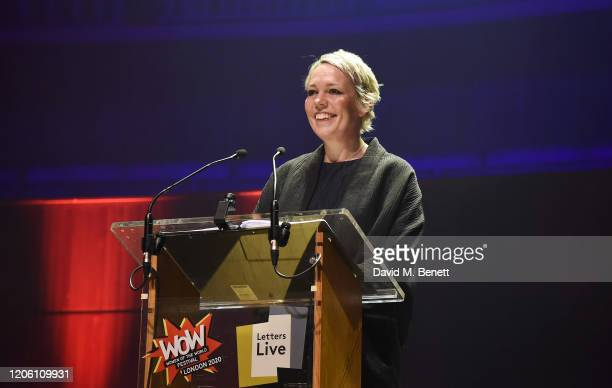 Olivia Colman performs during Letters Live at WOW Women Of The World Festival at Southbank Centre on March 8, 2020 in London, England.