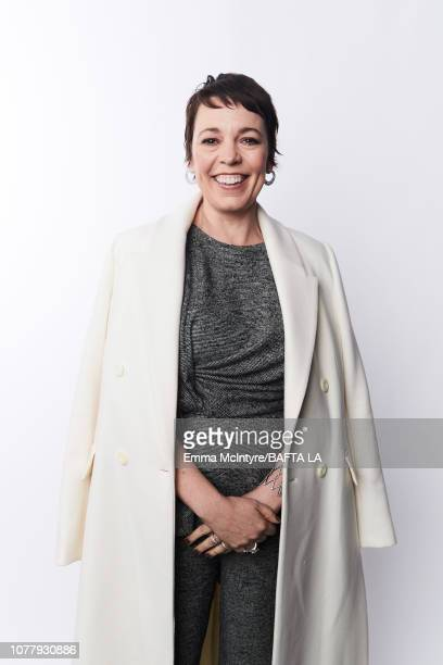 Olivia Colman poses for a portrait at The BAFTA Tea Party on January 5, 2019 in Beverly Hills, California.