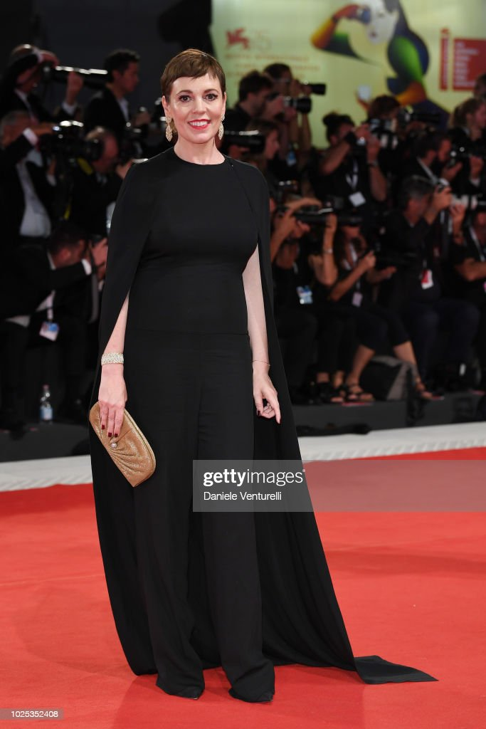 The Favourite Red Carpet Arrivals - 75th Venice Film Festival : News Photo