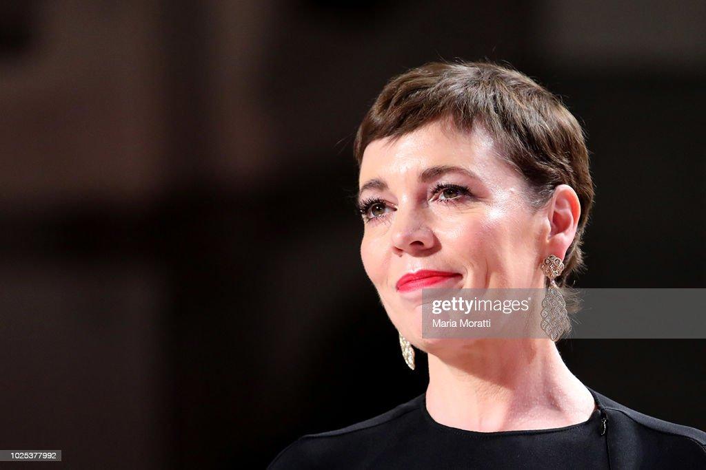 The Favourite Red Carpet Arrivals - 75th Venice Film Festival : Nieuwsfoto's