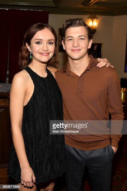 Olivia Cooke and Tye Sheridan attend 'Ready Player One' Premiere 2018 SXSW Conference and Festivals at Paramount Theatre on March 11 2018 in Austin...