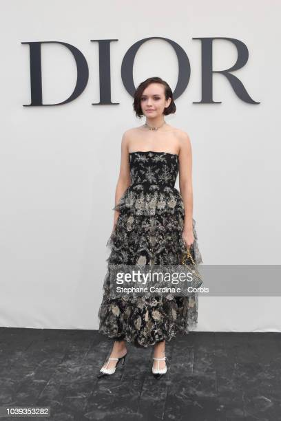 Olivia Cooke attends the Christian Dior show as part of the Paris Fashion Week Womenswear Spring/Summer 2019 on September 24, 2018 in Paris, France.